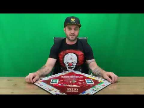 Ep 290 - Monopoly 2018 Fifa World Cup Russia Edition Unboxing