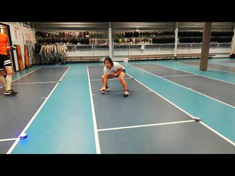 Speed square with home base fencing training