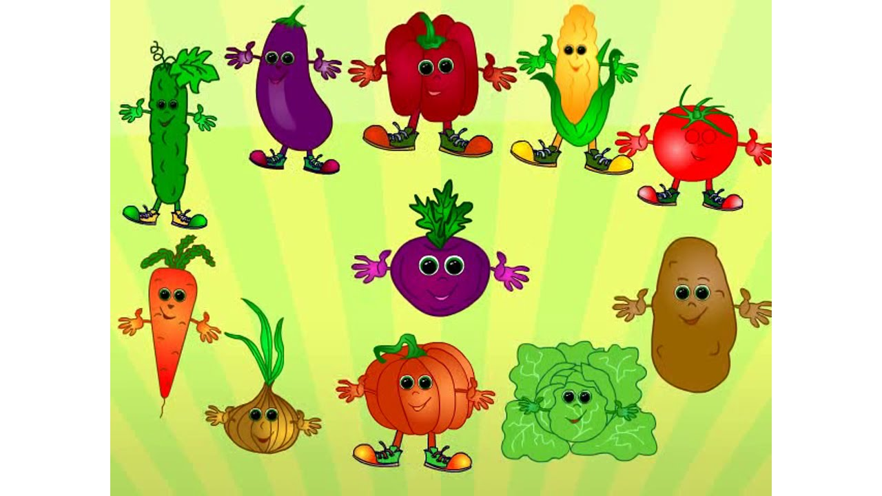 Fun with veg get your 5 a day 2