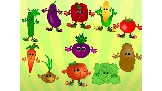 Vegetables Song for Kids   Simple Song for Children Learning English