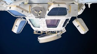 Astronaut Demonstrates the Space Observatory Cupola | ISS Video