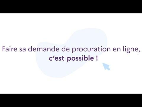 #Élections2021 | Simple, rapide et efficace : Faites votre procuration en ligne !