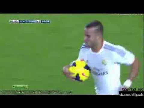 Чемпионат Испании  Барселона 2 1 Реал Мадрид  Гол Хесе  26 10 2013