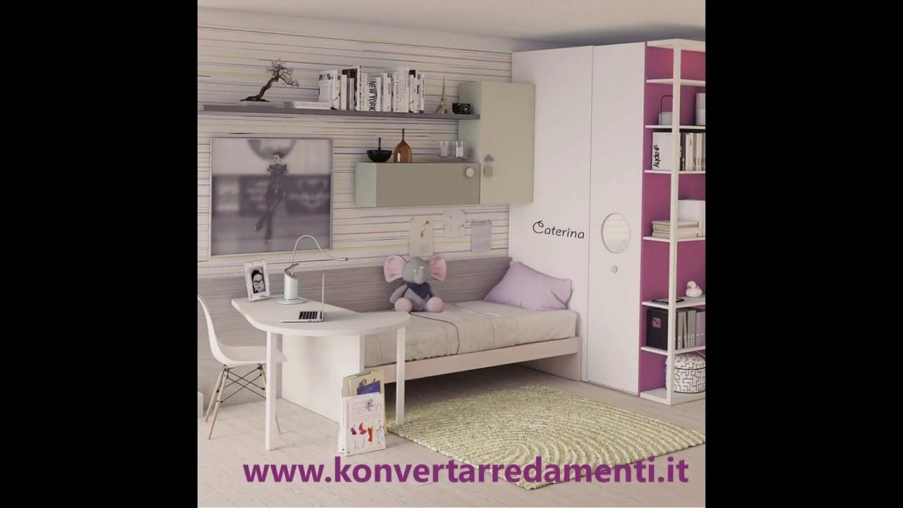 Camere Ragazzi Dielle.Camerette Per Bambini E Camere Per Ragazzi Dielle Gruppo Doimo A Torino