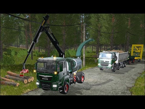 Farming Simulator 17 - Forestry and Farming on The Valley The Old Farm 074 thumbnail
