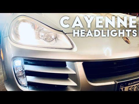 How to Replace Porsche Cayenne Headlight Bulbs