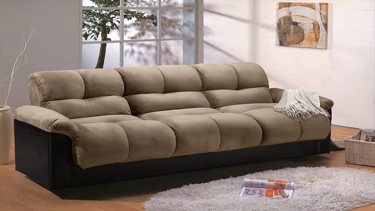 Lazy Boy Sofa Bed Leather Brown Contemporary Best Of - Youtube
