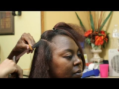 How To Give Bounce Pressed African American Hair Care