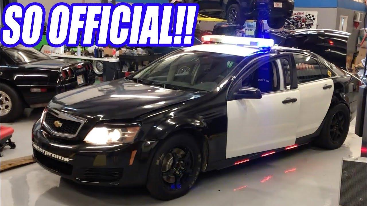 Ich habe ein großes Problem mit meinem Caprice Cop Car gefunden. Wird es genug sein, um 9 zu laufen? + video