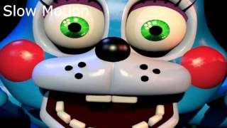 All FNAF Jumpscares 1-4 In Normal Slow And Fast Motion