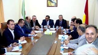 أخبار عربية - رئيس الائتلاف السوري يجتمع مع ممثلية المجلس الوطني الكردي السوري