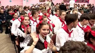 Дубоссары Гимназия 11А класс Новогодний КВН 2019