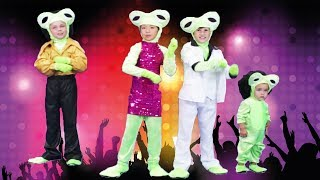 Five Little Speckled Frogs | Disco | Songs for Kids | Easy subtraction