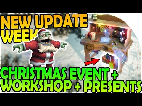 NEW UPDATE WEEK - CHRISTMAS EVENT + WORKSHOP + PRESENTS! - L