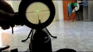 Mira Laser Laser Scope Green Traçante Regulagem Airgun Paintball