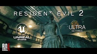 Resident Evil 2 | Fan REMAKE | R.P.D. Main Hall | Unreal Engine 4 | ULTRA Settings |