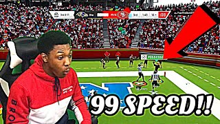 """99 SPEED RANDY MOSS IS A GLITCH 😱 