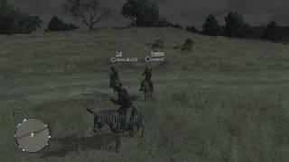 """Red Dead Redemption:: Zebra Mule Mount """"HD"""" + How To Unlock"""