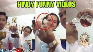 Banal na alak at pulutan mga pasaway na SAKRISTAN - Pinoy memes, funny videos compilation