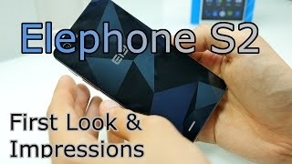 Elephone S2  - Unboxing & First Impressions - MT6735 2GB/16GB Android 5.1 ! [4K]