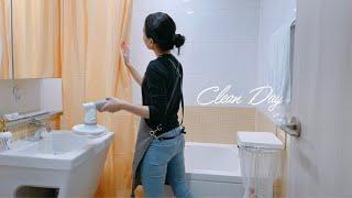 SUB) 화장실 청소 루틴 ㅣ 청소도구 정리 ㅣBath…