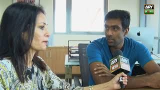 Ashwin talks of Pakistan