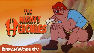 Hercules vs a Giant and his Dragon | THE MIGHTY HERCULES