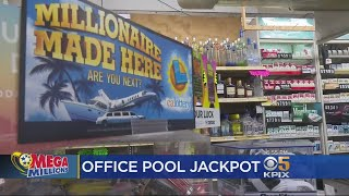 South Bay Office Workers Win Mega Millions Jackpot
