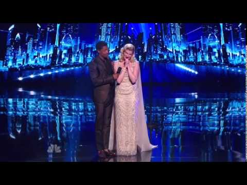America's Got Talent 2014 - Radio City Music Hall - Emily West