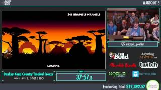 Awesome Games Done Quick 2015 - Part 1 - Donkey Kong Country Tropical Freeze by Michael Goldfish