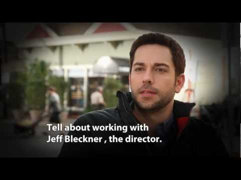 Cast Interview - Zachary Levi - Tell us about working with Jeff Bleckner, the director.
