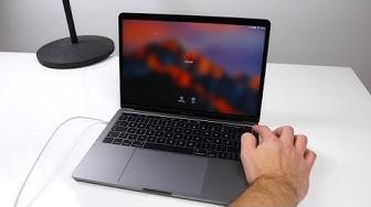 """Apple MacBook Pro 13"""" mit Touch Bar: Einrichten & Erster Eindruck (Deutsch)   SwagTab"""
