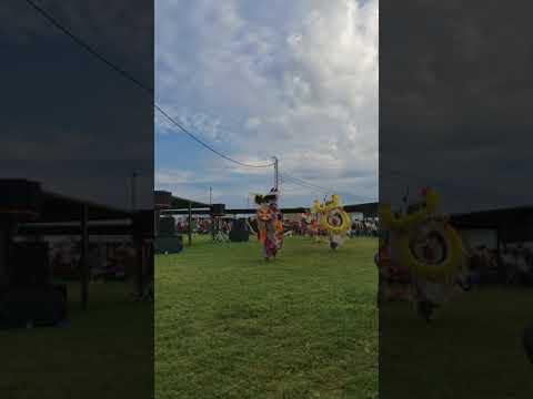 Sr Men's Fancy at Comanche Nation Fair 2017