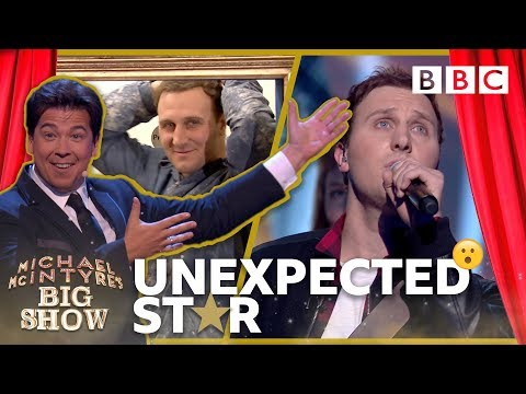 Unexpected Star: Aaron the Plasterer - Michael McIntyre