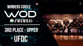 UFDC  | 3rd Place Upper | World of Dance Mumbai Qualifier 2017 | #WODMUM17