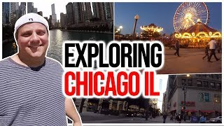 RV Living On The Road Full Time Exploring Chicago IL