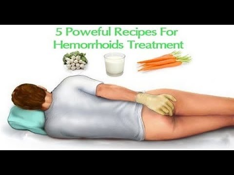 5 Powerful Recipes For Hemorrhoid Treatment