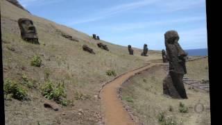 видео Статуи моаи истуканы острова Пасхи происхождение версии