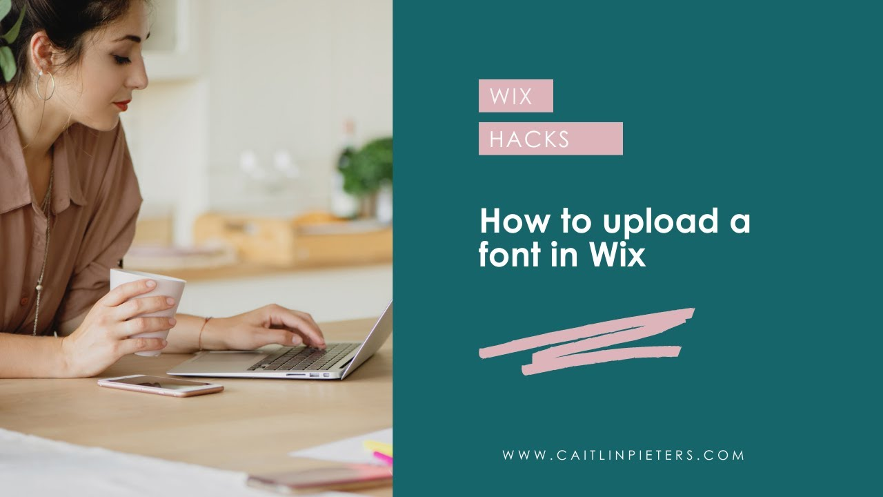 How to upload a font in Wix