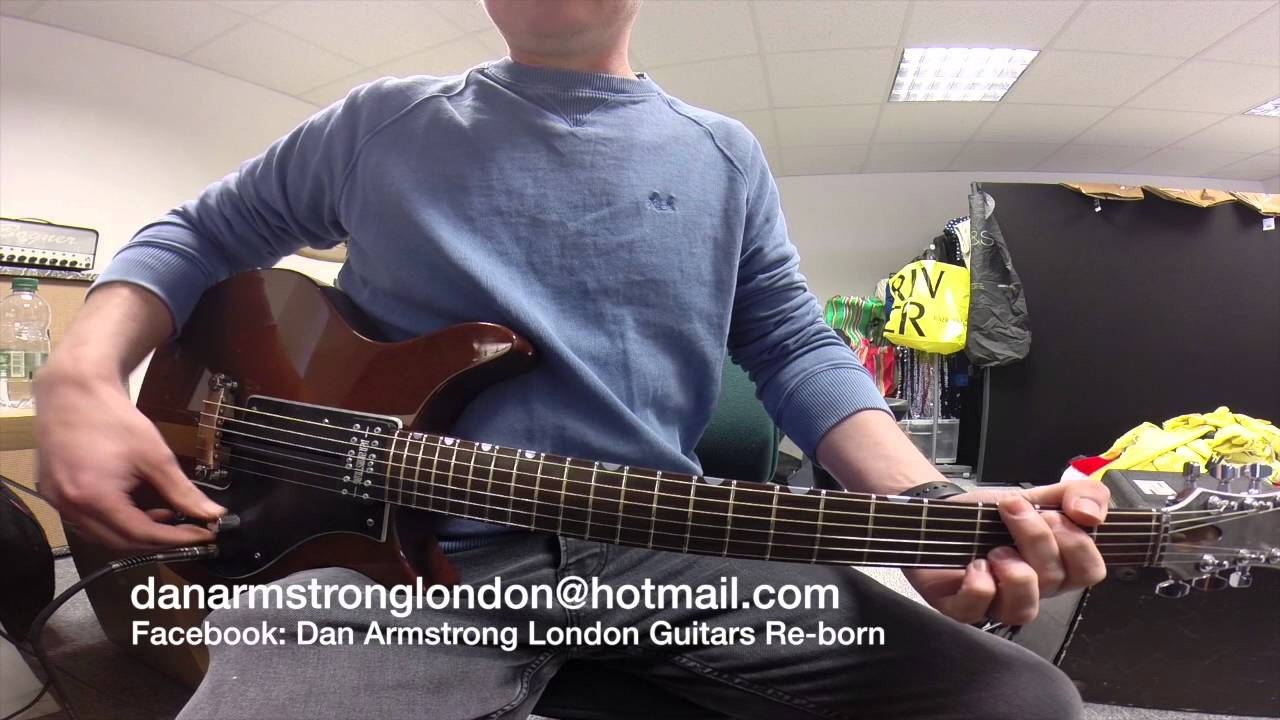 Dan Armstrong Facebook Experience Of Wiring Diagram London Rebuild Kits Available Youtube Rh Com Daniel Ampeg