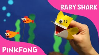 I'm an Origami Baby Shark Puppet! | Animal Songs | PINKFONG Songs for Children