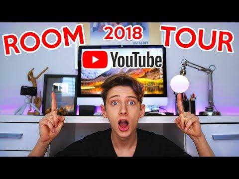 YOUTUBERS ROOM TOUR 2018 GeorgeMasonTV