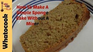 Trinidad 🇹🇹 Sponge Cake🍰 Without A Mixer