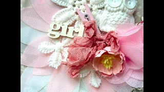 Скрапбукинг: quick tip, как сделать мятую шебби-ленточку // Scrapbooking: crumpled ribbon