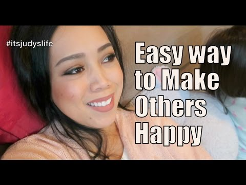 Easy Way to Make Others Happy! - December 27, 2014 - itsJudysLife Daily Vlog