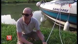Le tourisme fluvial sur le Journal de 13h de France 2