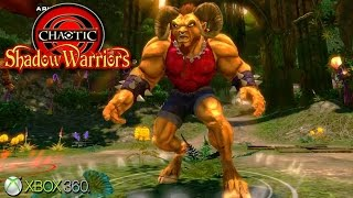 Chaotic: Shadow Warriors - Xbox 360 / Ps3 Gameplay (2009)