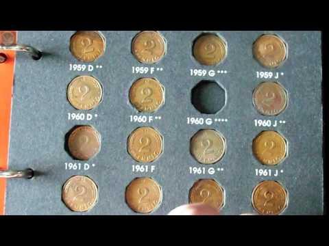 Reichsmark Münzen und deutsche Pfennige - Update