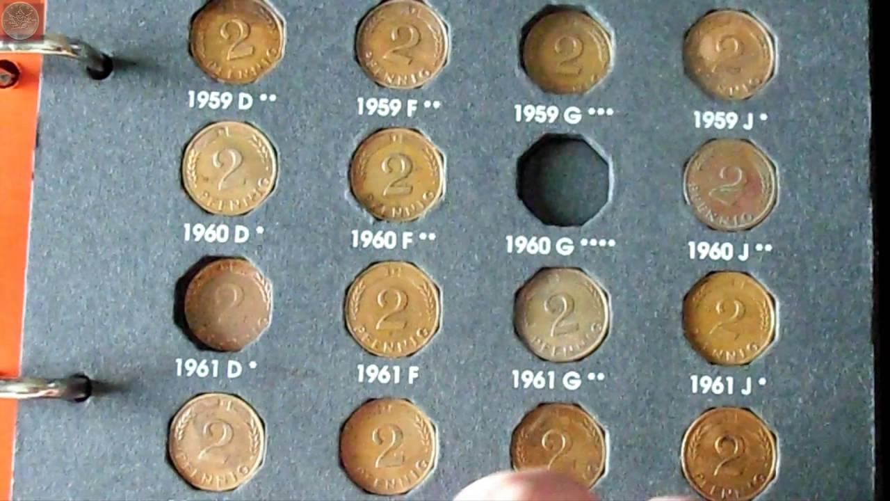 Reichsmark Münzen Und Deutsche Pfennige Update Youtube