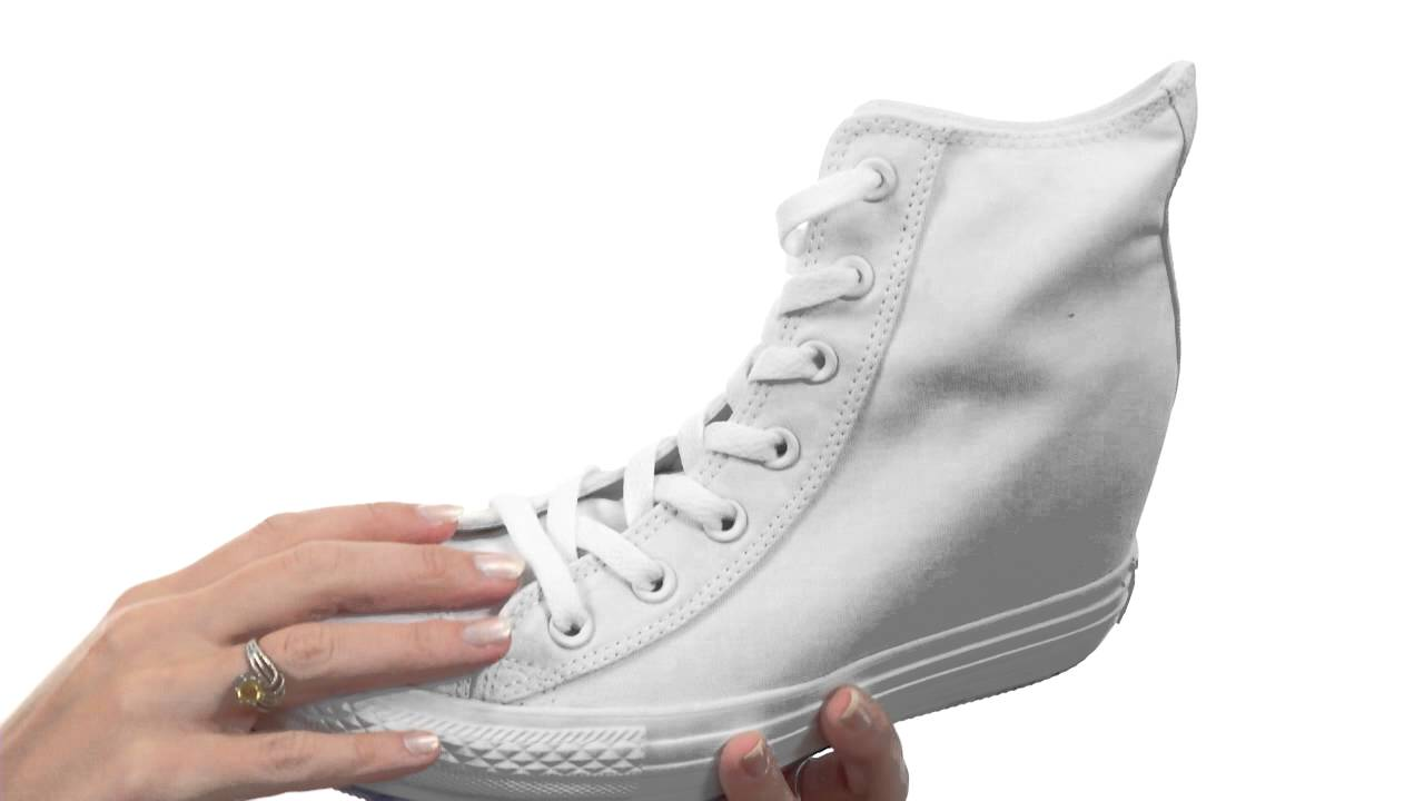 9dcae627dc34 Converse - Chuck Taylor® All Star® Platform Plus Hi SKU  8262496 - YouTube